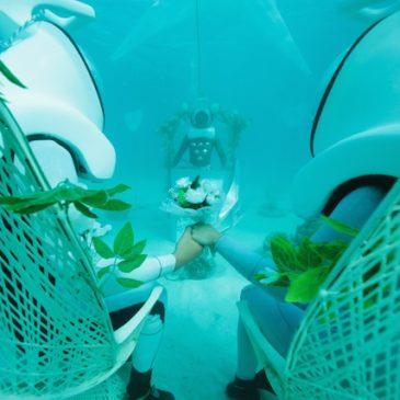 Underwater Weddings in Bora Bora