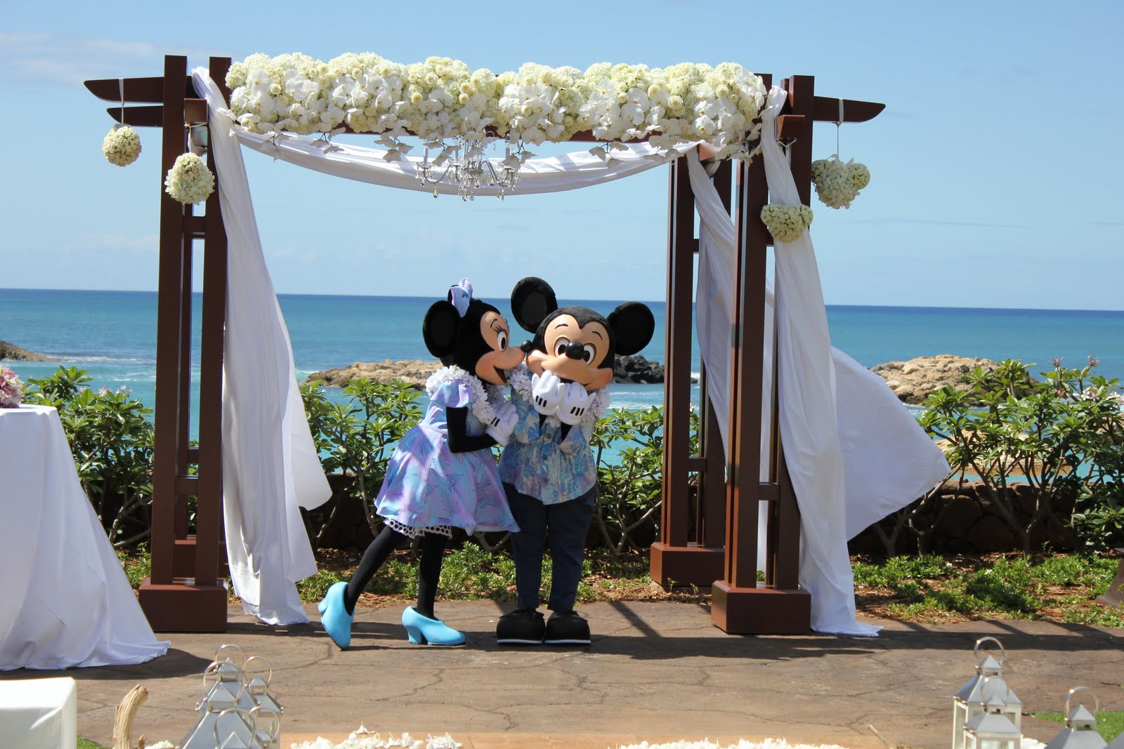 Blog Aulani Mickey And Minnie Wedding